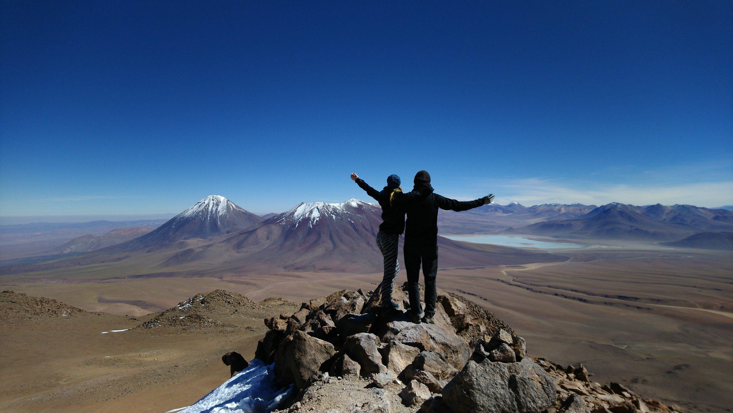 Besteigung des Cerro Toco in Chile