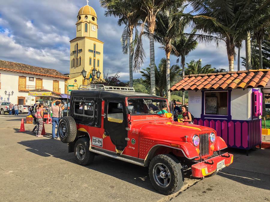 Mit dem Mietwagen durch Kolumbien